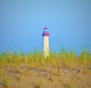 Nautical Digital Art - The Lighthouse at Cape May by Bill Cannon