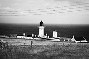 The Lighthouse At Dunnet Head Most Northerly Point Of Mainland Britain Scotland  Print by Joe Fox