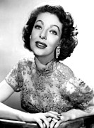 1950s Tv Prints - The Loretta Young Show, Loretta Young Print by Everett