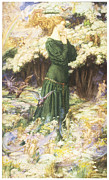 Eleanor Prints - The Lovers World Print by Eleanor Fortescue-Brickdale