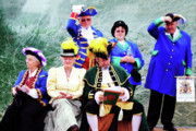 Colourfull Art - The Loyal Company of Town Criers - British Championships by David  Hollingworth