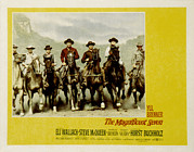Dexter Posters - The Magnificent Seven, Steve Mcqueen Poster by Everett