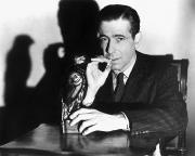 Smoker Metal Prints - The Maltese Falcon, 1941 Metal Print by Granger