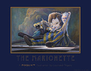 Rip Squeak Paintings - The Marionette by Leonard Filgate