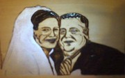 Affordable Pyrography - The married couple by Timothy Wilkerson