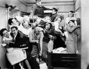 Interior Scene Photo Metal Prints - The Marx Brothers, 1935 Metal Print by Granger