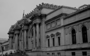 Museum Of Art Prints - The Metropolitan Museum of Art Print by Christopher Kirby