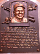 Mickey Mantle Art - The Mick by David Bearden