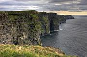 Moher Prints - The Mighty Cliffs of Moher in Ireland Print by Pierre Leclerc