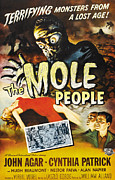 Jbp10ap23 Framed Prints - The Mole People, 1956 Framed Print by Everett