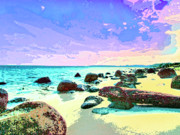 Lahaina Mixed Media Prints - The Morning After Print by Dominic Piperata