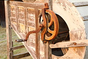 Industrial Background Originals - The old of Milling machine by Phalakon Jaisangat