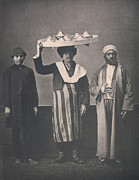 Clothes Clothing Art - The Ottoman Empire, Studio Portrait by Everett