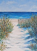 North Sea Paintings - The Pathway by Stanton Allaben