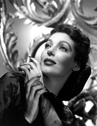 Loretta Framed Prints - The Perfect Marriage, Loretta Young Framed Print by Everett