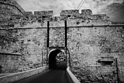 Old Roadway Photo Framed Prints - The Porta Di Limisso The Old Land Gate In The Old City Walls Famagusta Turkish Republic Cyprus Framed Print by Joe Fox