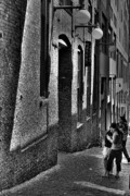 Post Alley Framed Prints - The Post Alley Gum Wall Framed Print by David Patterson