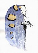 Figure Mixed Media - The Prophet Three by Mark M  Mellon