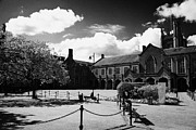 Quad Prints - the quad inside the main lanyon building site of Queens University Belfast Northern Ireland UK Print by Joe Fox