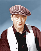 1952 Movies Framed Prints - The Quiet Man, John Wayne, 1952 Framed Print by Everett