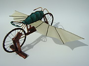 Wheels Sculptures - The Quiet Night  by Jim Casey