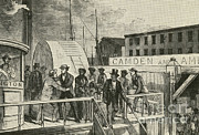 Abolition Posters - The Rescue Of Jane Johnson And Her Poster by Photo Researchers