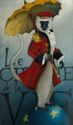 Circus Metal Prints - The Ringmaster Metal Print by Katherine DuBose Fuerst