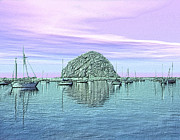 The Rock Print by Kurt Van Wagner