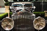Transportation Photo Framed Prints - The Rolls Royce Framed Print by Wingsdomain Art and Photography