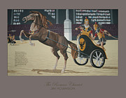 Roman Soldier Paintings - The Roman Chariot by James Robinson