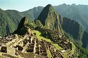 The Ruins Of Machu Picchu, Peru, Latin America Print by Brian Caissie