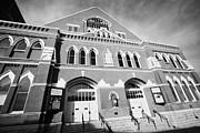 Tennessee Landmark Prints - The Ryman Auditorium former home of the Grand Ole Opry and gospel union tabernacle Nashville Print by Joe Fox