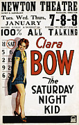 1920s Portraits Posters - The Saturday Night Kid, Clara Bow, 1929 Poster by Everett