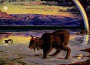 Isaiah Prints - The Scapegoat Print by William Holman Hunt