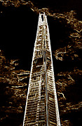 Shard Prints - The Shard London Print by David Pyatt