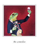 Tasting Paintings - The Sommelier by Will Bullas