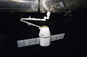 Component Photos - The Spacex Dragon Cargo Craft Prior by Stocktrek Images