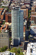 Aerial Photo Of Philadelphia Posters - The St James 200 West Washington Square Philadelphia PA 19106 3513 Poster by Duncan Pearson