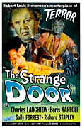 1950s Movies Photo Posters - The Strange Door, Charles Laughton Poster by Everett