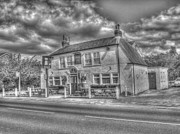 Tankard Prints - The Tankard Inn Rufforth Print by Allan Briggs
