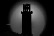 Spooky Digital Art - The Tower by David Lee Thompson