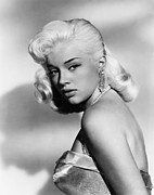 1957 Movies Prints - The Unholy Wife, Diana Dors, 1957 Print by Everett
