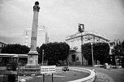 Cumhuriyeti Prints - The Venetian Column in Ataturk square nicosia TRNC turkish republic of northern cyprus Print by Joe Fox