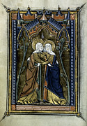 Psalter Paintings - The Visitation by Granger