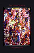 Expressionism Prints - The War of Dreams Print by Albert  Almondia