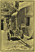 Taos Posters - The Wooden Cart Poster by David Patterson