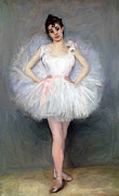 The Young Ballerina  Print by Stefan Kuhn