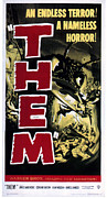 Pos Prints - Them, 1954 Print by Everett