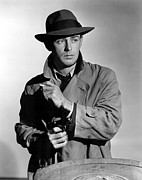 Trenchcoat Framed Prints - This Gun For Hire, Alan Ladd, 1942 Framed Print by Everett