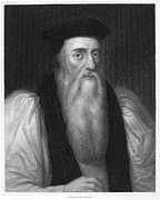 Reformer Framed Prints - Thomas Cranmer (1489-1556) Framed Print by Granger